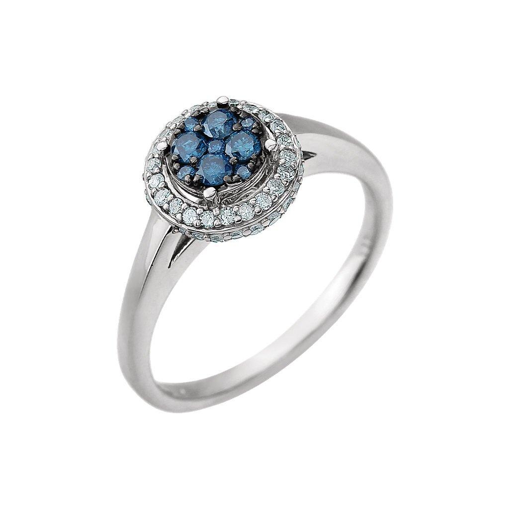 diamantový zlatý prsteň
